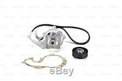 BOSCH Timing Cam Belt Kit + Water Pump Fits Ford Focus C-Max Transit 1.8L 1998