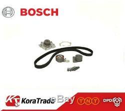 Bosch Belts Brand New Belt Kit + Water Pump 1987946408