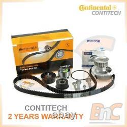 Contitech Dolz Heavy Duty Timing Belt Kit & Water Pump Opel Vauxhall Astra