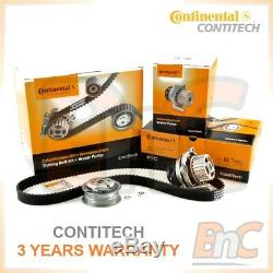 Contitech Heavy Duty Timing Belt Kit Cambelt Set Tensioner Pulley & Water Pump