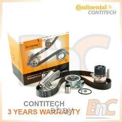 Contitech Timing Belt Cambelt Set Tensioner Pulley & Water Pump Audi A4 B6