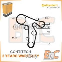Contitech Water Pump & Timing Belt Kit Vw Seat Audi Skoda Oem Ct1139wp6
