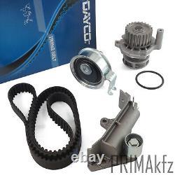 DAYCO Zahnriemen 94777 + Rollensatz Wasserpumpe Audi Seat Skoda VW 1.8 1.8T
