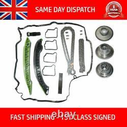 Fits Mercedes E200 E250 Cgi 2009- Timing Chain Kit + Camshaft Vvt Cam Gears