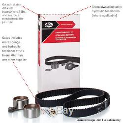 For Audi Ford Seat Skoda Volkswagen Tensioner Gates Timing Cam Belt Kitk055569xs