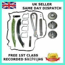 For Mercedes Timing Chain Kit & Vvt Gears C Class Cgi C180 C200 C250 2007 On