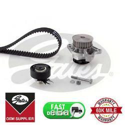 For Seat Vw Timing Cam Belt Water Pump Kit Kp15427xs-1 Cambelt Tensioner