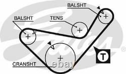 Gates K025435xs Timing Belt Set