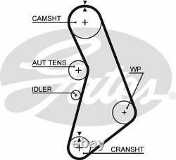 Gates K055491xs Timing Belt Set