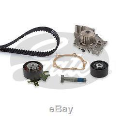 Gates KP15606XS Timing Belt & Water Pump Kit Volvo V50 2.0 Diesel 04-10