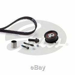Gates Timing Cam Belt Kit For Audi Seat VW Tensioner Pulley K045223XS