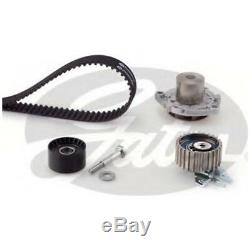 Gates Timing Cam Belt Water Pump Kit Fits Alfa Romeo 147 156 GT 1.9 5BQ