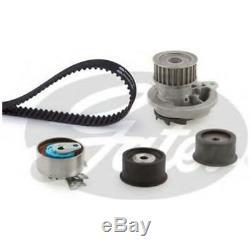 Gates Timing Cam Belt Water Pump Kit Fits Vauxhall Astra Zafira 2.0 T 8HO