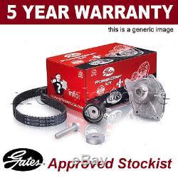 Gates Timing Cam Belt Water Pump Kit For Alfa Romeo Fiat Lancia KP55500XS