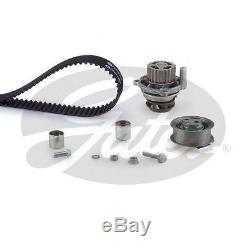 Gates Timing Cam Belt Water Pump Kit For Audi Seat Skoda VW Tensioner KP35604XS