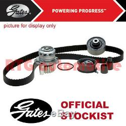 Gates Timing Cam Belt Water Pump Kit For Fiat Bravo 1.2 1.4 Petrol (1998-)