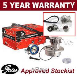 Gates Timing Cam Belt Water Pump Kit For Hyundai Kia Tensioner Pulley KP15579XS2