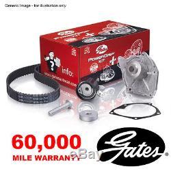 Gates Timing Cam Belt Water Pump Kit For Peugeot 206 C307 406 407 607 806 807
