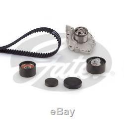 Gates Timing Cam Belt Water Pump Kit For Renault Tensioner Pulley KP25550XS
