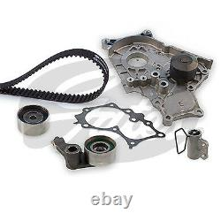 Gates Timing Cam Belt Water Pump Kit For Toyota Rav 4 2.0 Diesel (2001-2005)