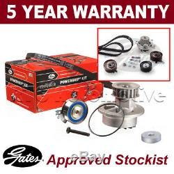 Gates Timing Cam Belt Water Pump Kit For VW LT Transporter Caravelle KP15323XS