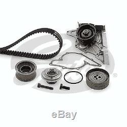 Gates Timing Cam Belt Water Pump Kit KP2TH15344XS Fits Audi