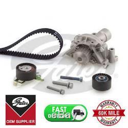 Gates Timing Cam Belt Water Pump Kitkp15528xs For Citroen Fiat Lancia Peugeot