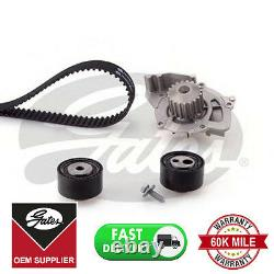 Gates Timing Cam Belt Water Pump Kitkp15558xs For Citroen Fiat Lancia Peugeot