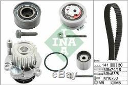 Ina 530 0405 30 Water Pump & Timing Belt Set