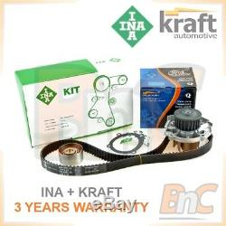 Ina Kraft Heavy Duty Timing Belt Kit Cambelt Set & Water Pump Fiat Grande