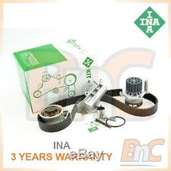 Ina Oem Heavy Duty Timing Belt Cambelt Set Tensioner Pulley & Water Pump