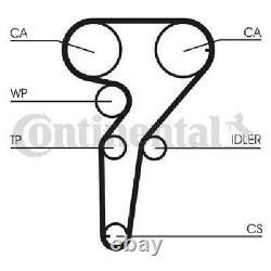 Original CONTINENTAL CTAM Zahnriemensatz CT1149K1 für Alfa Romeo