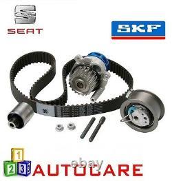 Seat Leon Ibiza 1.9 TDI Engine Timing Belt Kit Water Pump Cambelt Cam By SKF