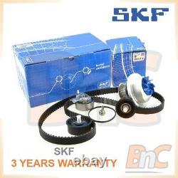 Skf Heavy Duty Timing Belt Kit Cambelt Set Tensioner Pulley & Water Pump Opel