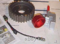 Sportster'05-'13 32 Tooth Pulley Kit & Tools, Front Transmission, 32TS-2G