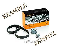 Timing Belt + Pulley KIT CONTITECH Fits OPEL VAUXHALL 1.7L V6 L4 L6