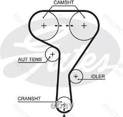 Timing Belt Pulley Set Kit Opel Vauxhall Chevrolet Fiat Alfa Romeo Saab 1606355