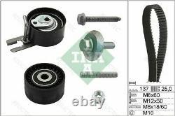 Timing Belt Pulley Set Kit for Peugeot Citroen Ford Volvo Fiat Mini Suzuki