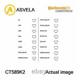 Timing Belt Set For Bmw 3, E36, M40 B16, M43 B16, M40 B18 Contitech Ct589k2