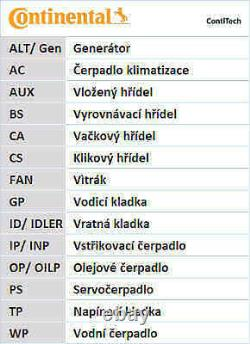 Zahnriemensatz für FORD VOLVO CONTINENTAL CTAM CT979K2