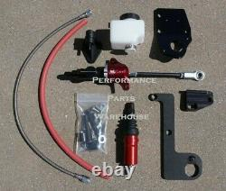 64-66 Mustang Hydraulic Clutch Kit, Élève Externe, 260 & 289 Avec 157t Flywheel