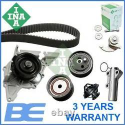 Audi Vw Water Pump & Timing Belt Kit Genuine Heavy Duty Ina 530017930 078109244j