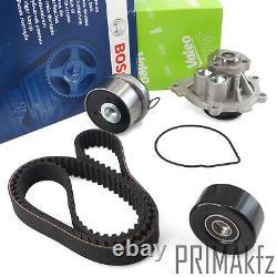 Bosch Zahnriemen + Rollen + Valeo Wapu Opel Astra G H J Corsa D 1.6 1.8 + 16v