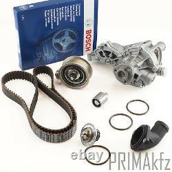 Bosch Zahnriemen + Rollen Wasserpumpe Thermostat Für Audi A4 Vw Passat 1.8 1.8t