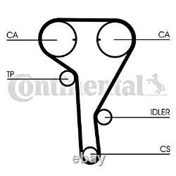 Ceinture De Temps + Poulie Kit Contitech S'adapte Opel Vauxhall 1.4-1.8l V6 V8 L4