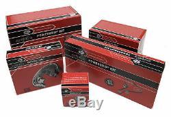 Compatible Avec Vw Golf (2000-2005) Kit Pompe À Eau 1.9 Tdi Gates Pour Courroie De Distribution 1aa