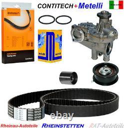 Conti Zahnriemen+satz+wapu Audi 80 A6 Sat Cordoba Ibiza 2 Toledo I 1.9 Tdi Sdi