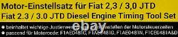 Contitech Zahnriemen+satz+valeo Wasserpumpe Für Fiat Ducato 2.3 D