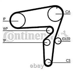 Contitech Zahnriemensatz + Rollen Kit Für Alfa Romeo Lancia 156 166 2.4l L5 L6