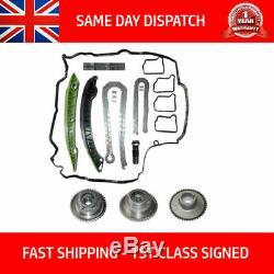 Convient Kit Chaîne Mercedes Timing Et Vvt Gears C Classe Cgi C180 C200 C250 2007 Sur
